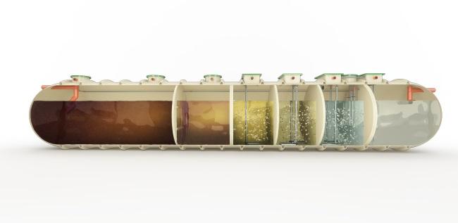 BioFicient Commercial Sewage Treatment