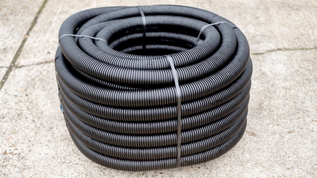 Twinwall Pipe Ducting Coil